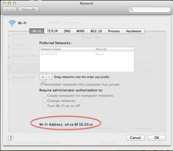 Information Technology - Find MAC (Physical) Address