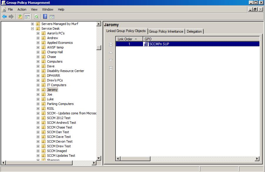 Information Technology - SCCM - Client Installation